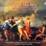 Telemann: Integral de Las Sonatas a trío para violín, oboe, flauta y bajo continuo