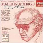Joaquín Rodrigo: Obras para orquesta de cámara