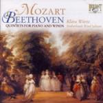 Mozart, Beethoven: Quintetos para piano e instrumentos de viento