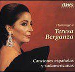 Homenaje a Teresa Berganza: Canciones españolas y sudamericanas