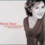 """María Bayo. """"Canciones españolas""""."""