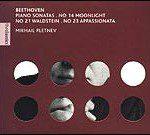 """Beethoven: """"Sonatas para piano nº14 """"Claro de luna"""", nº21 """"Waldstein"""" y nº23 """"Appassionata"""""""