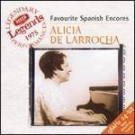 Alicia de Larrocha: Favourite Spanish Encores