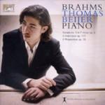 Brahms: Sonata para piano nº 3 Op.5; 2 Rapsodias Op.79; 3 Intermezzi Op.117