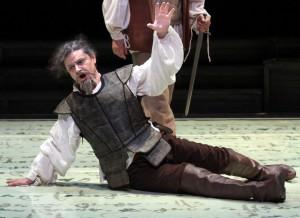 Ensayo de El caballero de la triste figura.Teatro Auditorio de San Lorenzo de el Escorial. Foto: Jaime Villanueva.