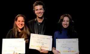 Los ganadores de los tres primeros premios de Grado Superior