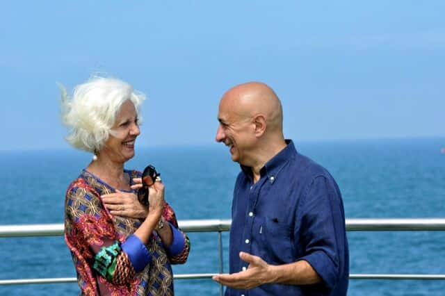 Raina Kabaivanska y José Gómez, director artístico del IOS