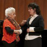 Teresa Berganza en el Conservatorio del Liceo