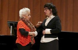 La mezzosoprano Teresa Berganza