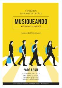 Cartel de Musiqueando 2016