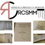 Salen a la luz los tesoros del RCSMM
