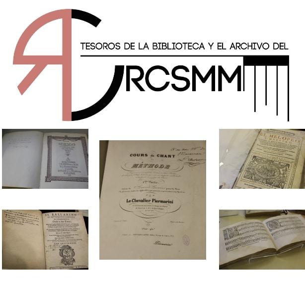Cartel de la exposición de la RCSMM