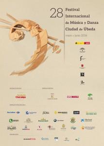 """Cartel del XVIII Festival de Música y Danza """"Ciudad de Úbeda"""""""