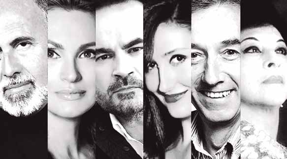 Intérpretes de Una noche en la Zarzuela, espectáculo de la nueva temporada del Teatro de la Zarzuela