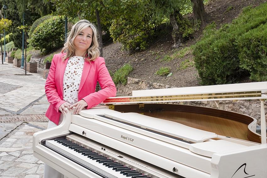 La pianista malagueña Paula Coronas