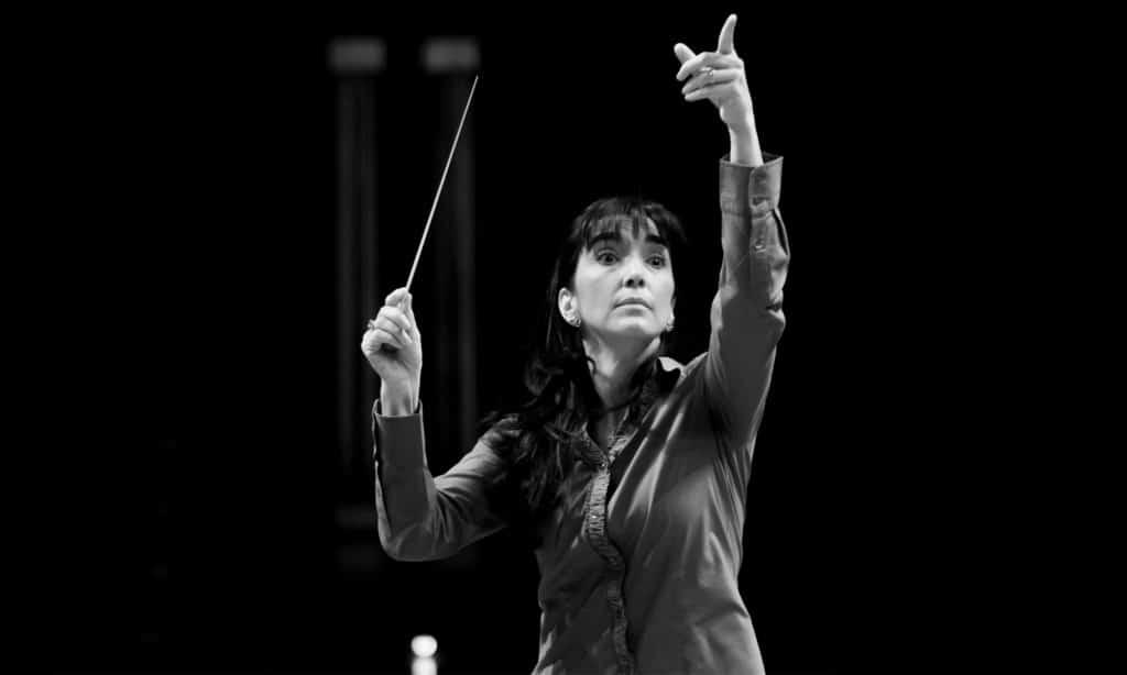 Silvia Sanz, directora de la Orquesta Metropolitana de Madrid y del Coro Talía
