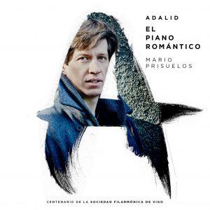 Cartel de la gira Adalid del pianista Mario Prisuelos