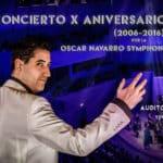 Óscar Navarro celebra diez años de carrera