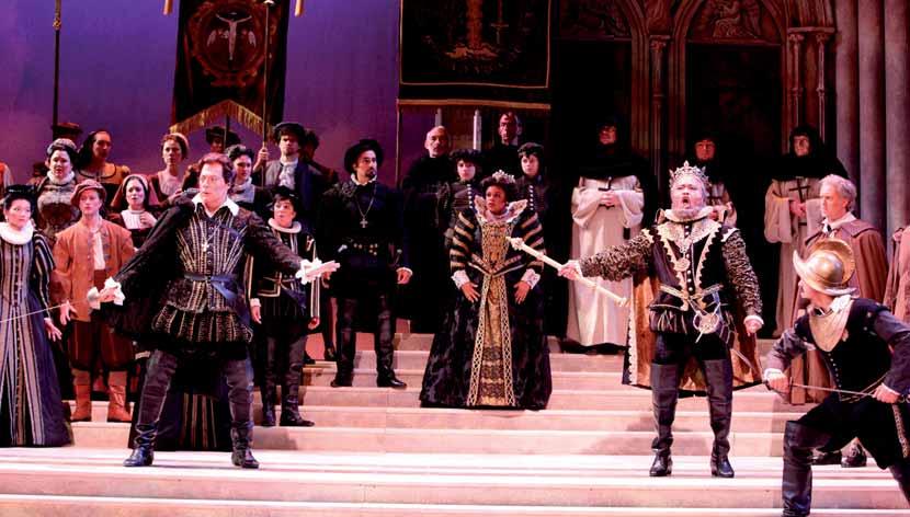 Don Carlo en la Ópera de Sarasota.