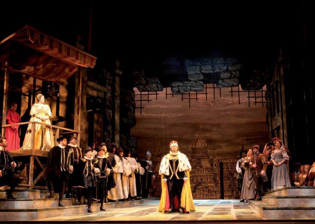 Don Carlo en la Ópera de Vancouver.