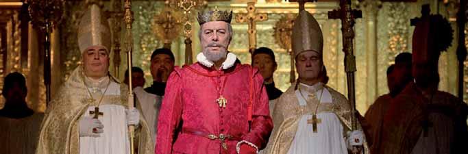 Ferruccio Furlanetto como Felipe II en Don Carlo.