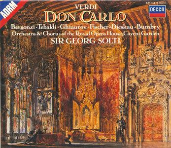 Grabación Decca de Don Carlo