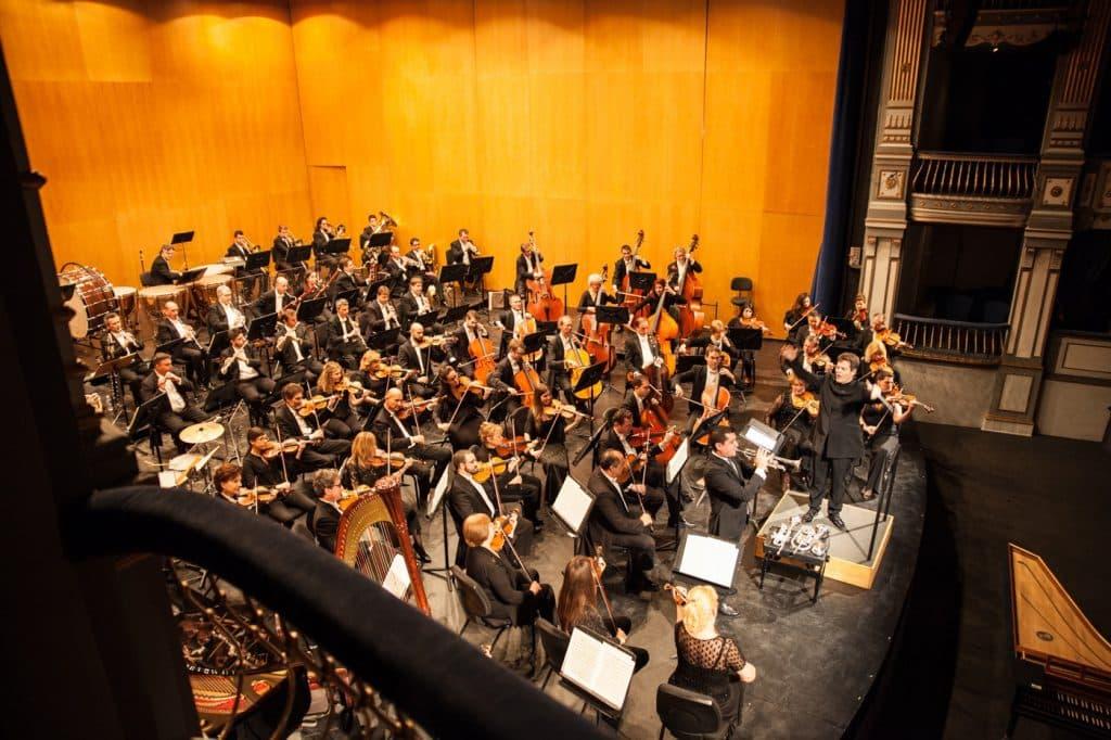 La Orquesta Filarmónica de Málaga, OFM.