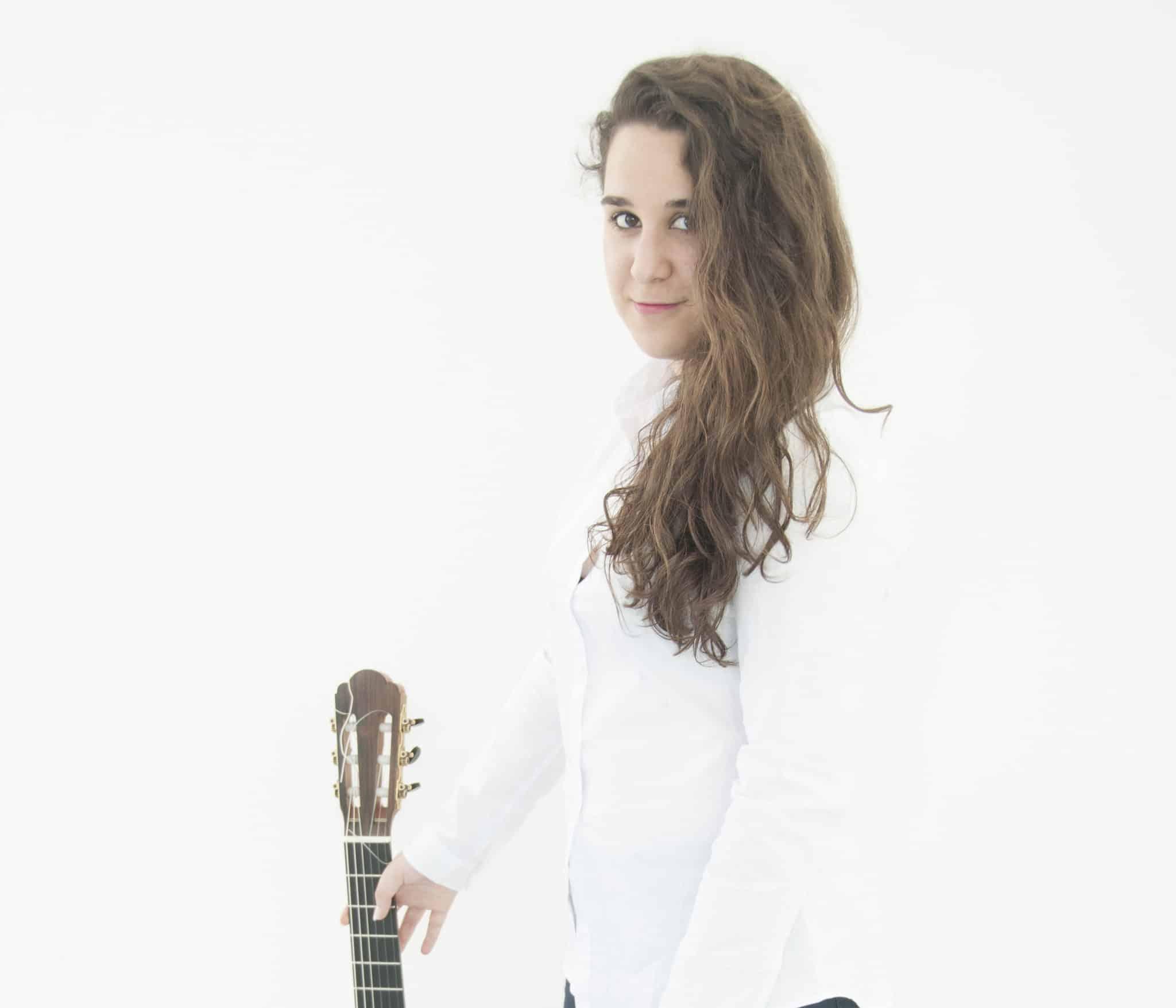 La joven guitarrista Sara Guerrero Aguado.