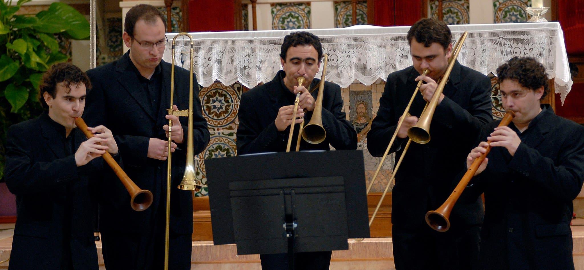 Los ministriles calarraspeños del Ensemble La Danserye actuarán en Lorquí el 3 de julio