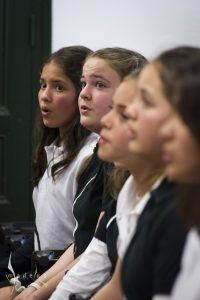 Niños en la iniciativa The Children Singers