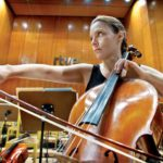 Suzana Stefanovic y los chelos de la OSRTVE