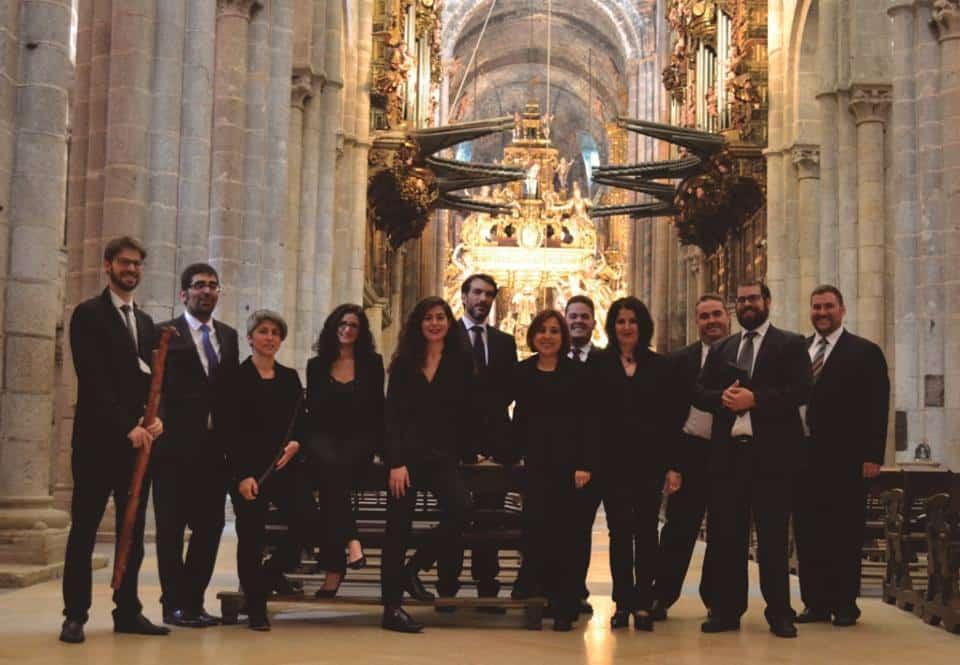 Vox Stellae Ensemble, que interpretará a Mozart en Barcia de Mera.