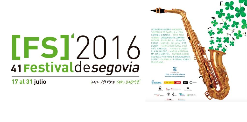 Cartel del 41 festival de Segovia