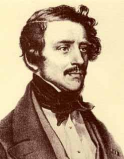 El compositor Gaetano Donizetti