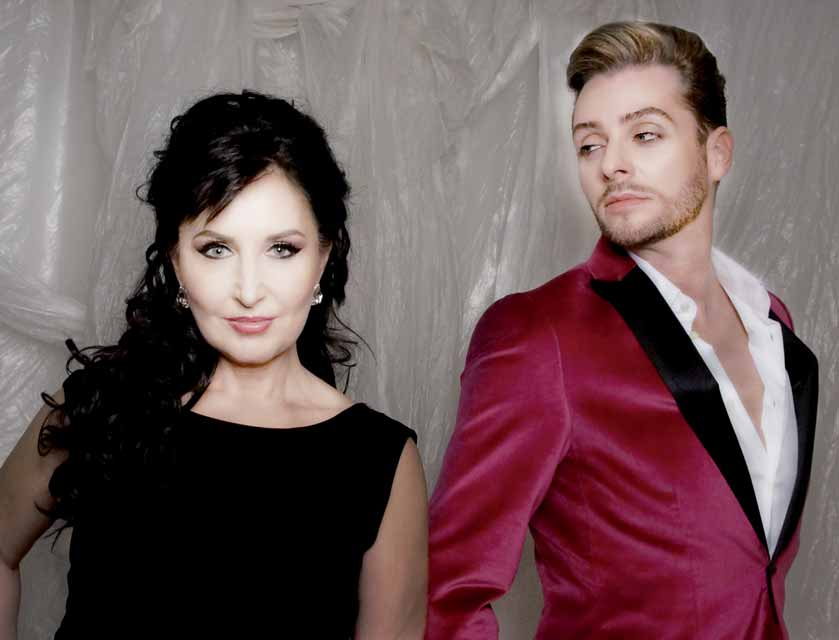 El duo Operfado formado por Elena Mosuc y Gonçalo Salgueiro