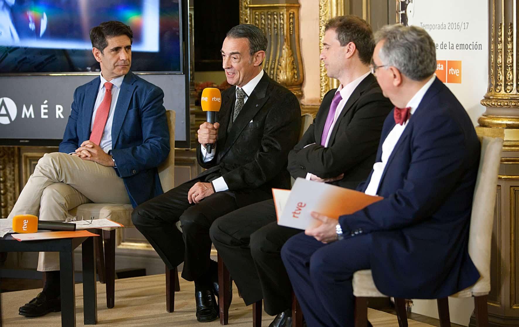 Presentacion de la nueva temporada de la RTVE