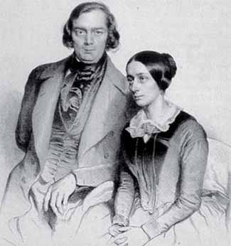 Robert y Clara Schumann