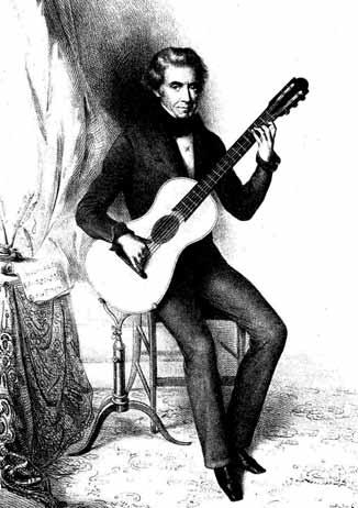 El guitarrista Dionisio Aguado