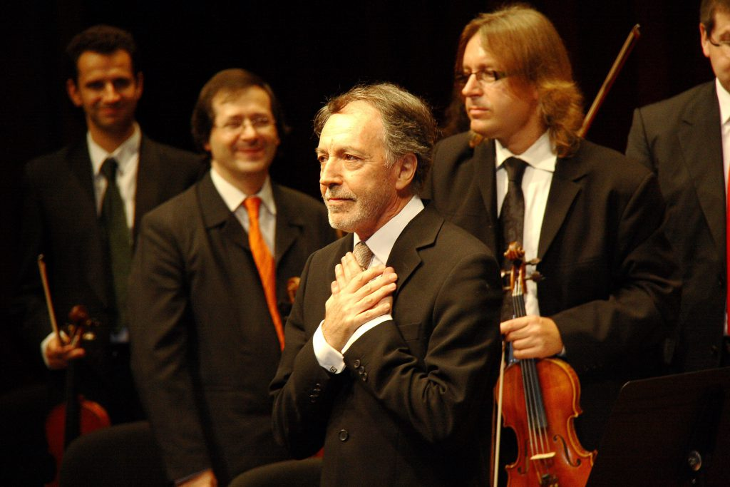 El director y fundador de la orquesta Cambra Catalana, Joan Pàmies.
