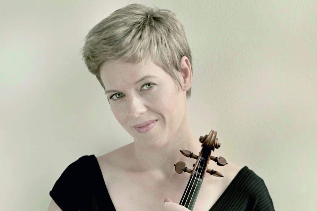 La violinista Isabelle Faust que actuara en el ciclo de Música Antigua de L'Auditori de Barcelona
