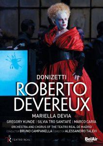 Portada del DVD de Roberto Deveraux.
