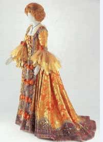 Vestido de Manon Lescaut confeccionado para Renata Tebaldi.