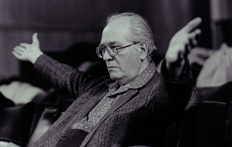 El compositor Oliver Messiaen.