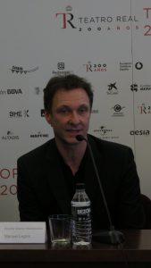 El coreógrafo de El Corsario y director del Ballet de la Ópera de Viena, Manuel Legris.