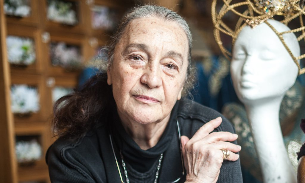 La figurinista Luisa Spinatelli.