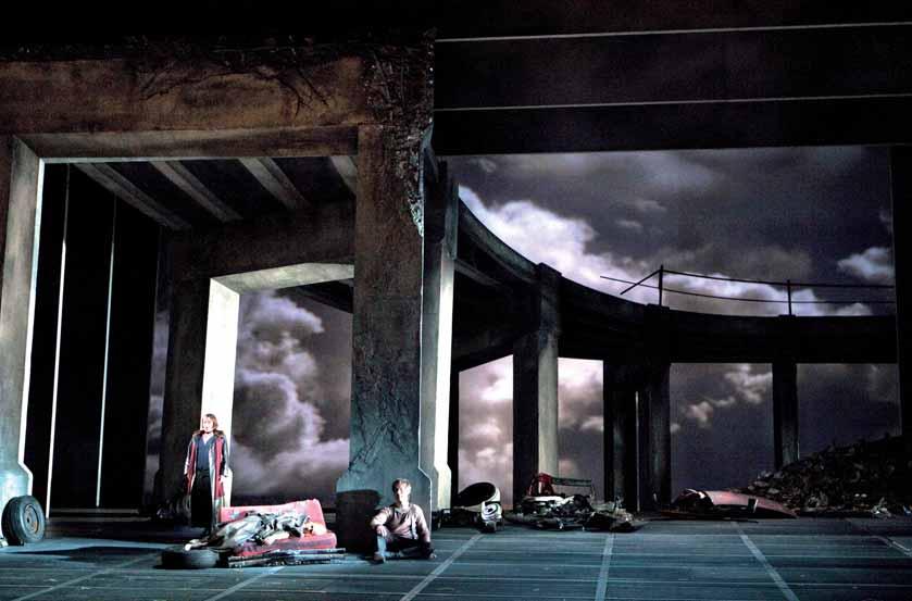 Otra escena de El ocaso de los dioses en la San Francisco Opera.