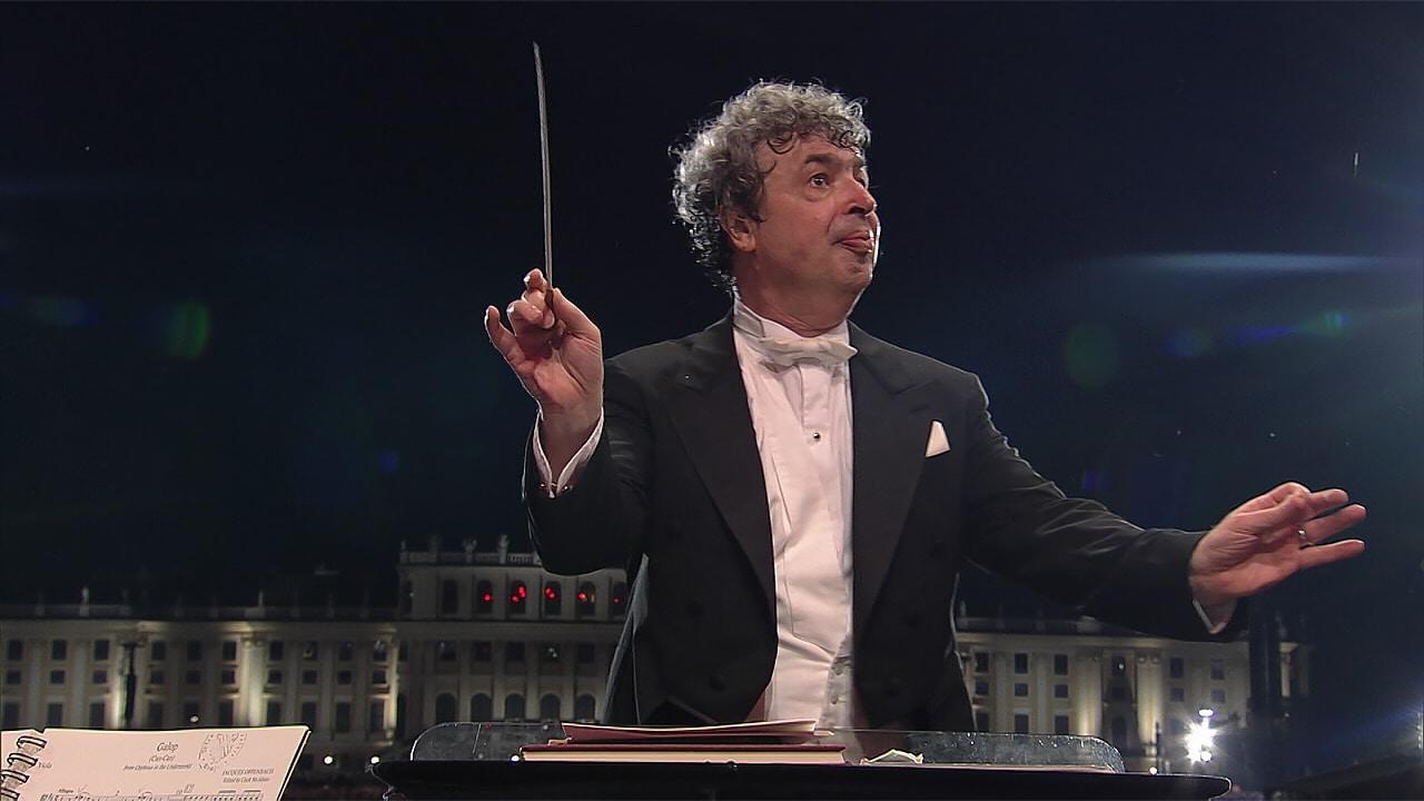 Bychkov dirigiendo a la Orquesta Filarmónica de Viena el Galope Infernal del Orfeo de Offenbach.