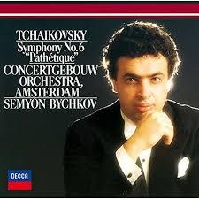 Grabación DECCA de la Sinfonía número 6 Patética de Tchaikovsky dirigida por Semyon Bychkov.