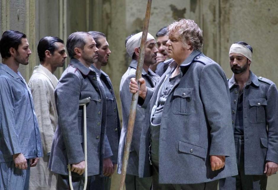 Imagen de Parsifall, la ópera wagneriana que Bychkov dirigió en el Teatro Real.