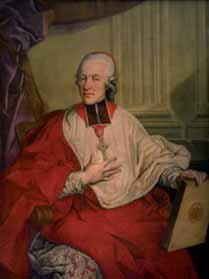 El arzobispo Colloredo, mecenas de Mozart.